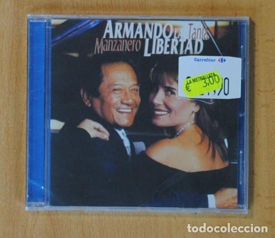 ARMANDO MANZANERO / TANIA LIBERTAD - ARMANDO LA LIBERTAD - CD (Música - CD's Latina)