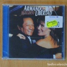 CDs de Música: ARMANDO MANZANERO / TANIA LIBERTAD - ARMANDO LA LIBERTAD - CD. Lote 160836734