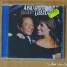 CDs de Música: ARMANDO MANZANERO / TANIA LIBERTAD - ARMANDO LA LIBERTAD - CD. Lote 160836768