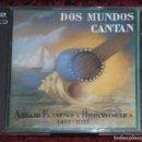 CDs de Música: DOS MUNDOS CANTAN (ROCIO JURADO, JUAN VALDERRAMA, PACO TORONJO) 2 CD'S 1992. Lote 160854050