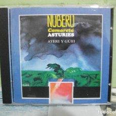 CDs de Música: NUBERU CAMARETA ASTURIES AYER Y GUEY CD ALBUM NUEVO ¡¡¡ ASTURIAS. Lote 160868286