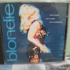 CDs de Música: BLONDIE THE REMIX PROJECT REMIXED REMADE REMODELED CD ALBUM PEPETO. Lote 160871010