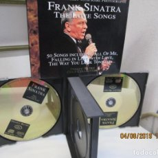 CDs de Música: FRANK SINATRA THE LOVE SONGS - 2 CD 50 CANCIONES. . Lote 160873106