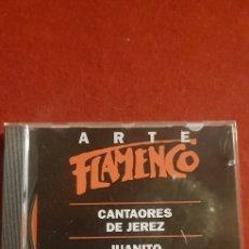 CDs de Música: ARTE FLAMENCO CANTAORES DE JEREZ JUANITO VALDERRAMA, LA NIÑA DE LA PUEBLA. Lote 160877436