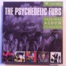 CDs de Música: THE PSYCHEDELIC FURS - ORIGINAL ALBUM CLASSICS - 5XCD BOX SET 2008 - SONY. Lote 160975738