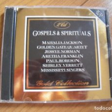 CDs de Música: DOBLE CD GOSPELS & SPIRITUALS GOLD COLLECTION. Lote 160978750