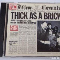 CDs de Música: JETHRO TULL ( THICK AS A BRICK ) 1998 - EU CD. Lote 161006022