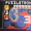 CDs de Música: PUZZLETRON 3 DOBLE CD BOY RECORDS 1995 - ELECTRONICA - HOUSE - MAKINA - 25 TEMAS. Lote 161063214