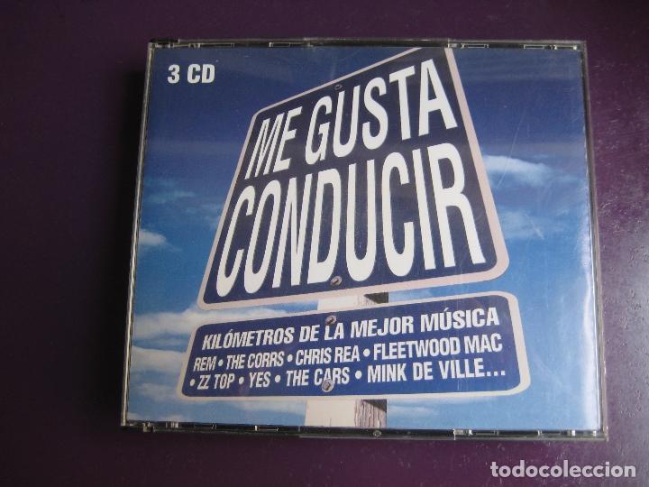 ME GUSTA CONDUCIR TRIPLE CD WEA 2002 - 54 TEMAS CLASICOS POP ROCK - LOU REED - REM - FLEETWOOD MAC (Música - CD's Rock)