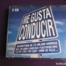 CDs de Música: ME GUSTA CONDUCIR TRIPLE CD WEA 2002 - 54 TEMAS CLASICOS POP ROCK - LOU REED - REM - FLEETWOOD MAC. Lote 161066018