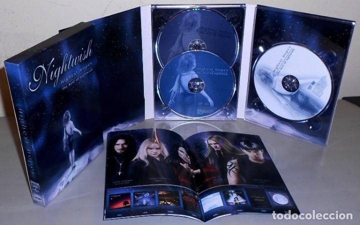 H45 - NIGHTWISH. HIGHEST HOPES. THE BEST OF NIGHTWISH. [2 CD + DVD]. ESTUCHE. DIGIPACK. (Música - CD's Heavy Metal)