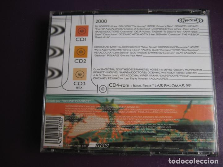 CDs de Música: Radical Vol. 0 TRIPLE CD + CD ROM CON FOTOS - NEW RECORDS 2000 - ELECTRONICA TRANCE EURO HOUSE - Foto 2 - 161070910