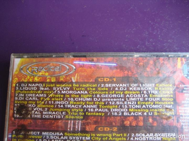 CDs de Música: Radical - La Fiesta Naranja DOBLE CD BIT MUSIC 2001 - ELECTRONICA TRANCE HARD HOUSE - Foto 3 - 161071362