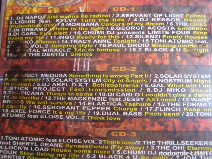 CDs de Música: Radical - La Fiesta Naranja DOBLE CD BIT MUSIC 2001 - ELECTRONICA TRANCE HARD HOUSE - Foto 4 - 161071362