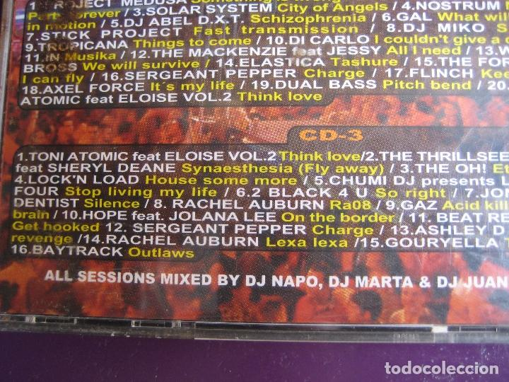 CDs de Música: Radical - La Fiesta Naranja DOBLE CD BIT MUSIC 2001 - ELECTRONICA TRANCE HARD HOUSE - Foto 5 - 161071362