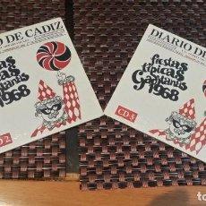 CDs de Música: LOTE DE 2 CD FIESTAS TÍPICAS GADITANAS 1968 CD 2 Y 5. Lote 161078934
