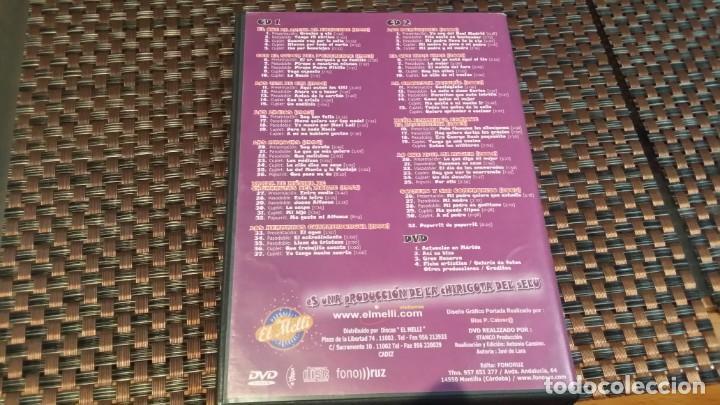 CDs de Música: carnaval de cádiz, la chirigota del selu presenta su antología, contiene 2 cds y 1 DVD - Foto 4 - 161083474
