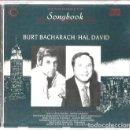 CDs de Música: CD BURT BACHARAH / HAL DAVID SONGBOOK ( DIONNE WARWICK, SANDIE SHOW, TOM JONES, CILLA BLACK ETC. Lote 161093890