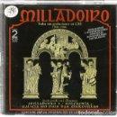 CDs de Música: DOBLE CD MILLADOIRO : TODAS SUS GRABACIONES EN CBS (982-1986) 33 CANCIONES. Lote 161096598