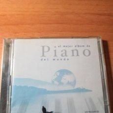 CDs de Música: EL MEJOR ALBUM DE PIANO DEL MUNDO 2 CDS. Lote 161134594
