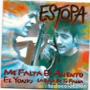 CDs de Música: ESTOPA. ME FALTA EL ALIENTO (3 TEMAS) (CD SINGLE 1999). Lote 161160766