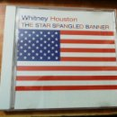 CDs de Música: WHITNEY HOUSTON THE STAR SPANGLED BANNER CD SINGLE PROMO USA DEL AÑO 1991 1 TEMA. Lote 161164970