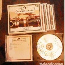 CDs de Música: 5 CD CLARINETE Y FLAUTA. CHOPIN, MOZART, HAENDEL, SHUBERT. Lote 161199118