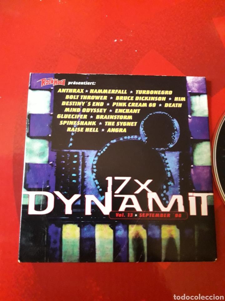 CDs de Música: Dynamit nr. 13 CD Heavy Metal Anthrax Turbonegro Hammerfall Bolt Thrower Bruce Dickinson HIM Death - Foto 2 - 161207588