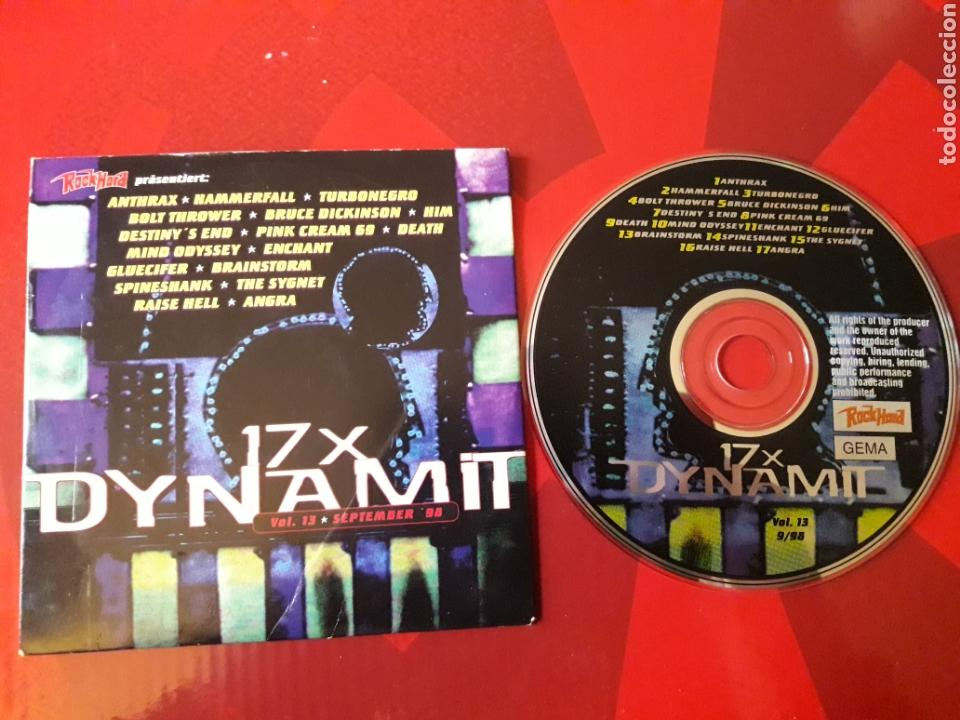 DYNAMIT NR. 13 CD HEAVY METAL ANTHRAX TURBONEGRO HAMMERFALL BOLT THROWER BRUCE DICKINSON HIM DEATH (Música - CD's Heavy Metal)