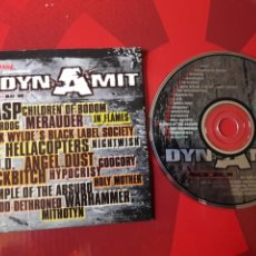 CDs de Música: DYNAMIT NR 16 CD HEAVY METAL - WASP CHILDREN OF BODOM IN FLAMES BLACK LABEL SOCIETY THE HELLACOPTERS. Lote 161210213