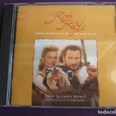 CDs de Música: CARTER BURWELL ‎CD VIRGIN 1995 - ROB ROY - BSO CINE - FOLK - CLASICA. Lote 161232158