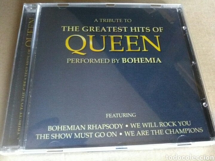QUEEN. THE GREAT HIST OF (Música - CD's Rock)
