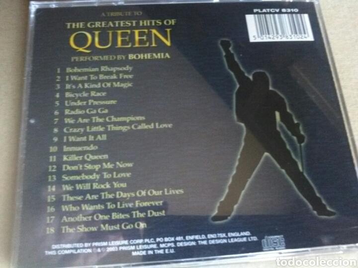CDs de Música: QUEEN. THE GREAT HIST OF - Foto 2 - 161312041