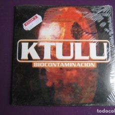 CDs de Música: KTULU CD SINGLE DRO 1997 - BIOCONTAMINACIÓN - THRASH METAL INDUSTRIAL - PRECINTADO. Lote 161317122