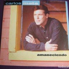 CDs de Música: CARLOS MATA CD SINGLE PROMO POLYDOR 1995 - AMANECIENDO + 2 MIXES - TVE TELEVISION - CULEBRON CRISTAL. Lote 161342926