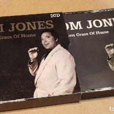 CDs de Música: TOM JONES / GREEN, GREEN GRASS OF HOME / DOBLE CD-BLACK BOX / 35 TEMAS / DE LUJO.. Lote 161352546