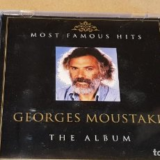 CDs de Música: GEORGES MOUSTAKI / THE ALBUM / CD 1 / MOST FAMOUS HITS / 14 TEMAS / LUJO.. Lote 161354574