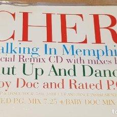 CDs de Música: CHER / WALKING IN MEMPHIS / SPECIAL REMIX CD / 4 TEMAS / CALIDAD LUJO.. Lote 161355090