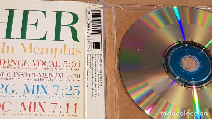 CDs de Música: CHER / WALKING IN MEMPHIS / SPECIAL REMIX CD / 4 TEMAS / CALIDAD LUJO. - Foto 2 - 161355090