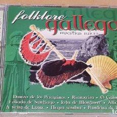 CDs de Música: FOLKLORE GALLEGO / NUESTRAS RAICES / CD - OK RECORDS / 15 TEMAS / CALIDAD LUJO.. Lote 161356058