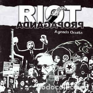 RIOT PROPAGANDA - AGENDA OCULTA (DISCOLIBRO CD 2017, BOA MÚSICA 230BOA11236) NUEVO (Música - CD's Hip hop)