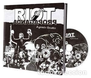 CDs de Música: RIOT PROPAGANDA - Agenda Oculta (Discolibro CD 2017, Boa Música 230BOA11236) NUEVO - Foto 4 - 161393898