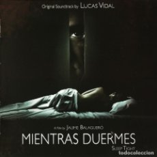 CDs de Música: MIENTRAS DUERMES / LUCAS VIDAL CD BSO - QUARTET. Lote 161424070