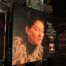 CDs de Música: AIDA - MARIA CALLAS, RICHARD TUCKER, FEDORA BARBIERI, TITO GOBBI. (MUY BUEN ESTADO) 3CD. Lote 161424566