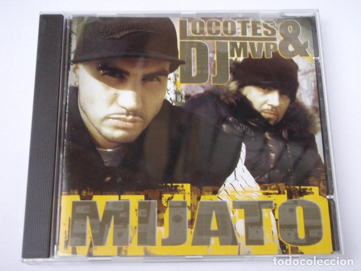 LOCOTES & DJ MVP ( MIJATO ) CD (Música - CD's Disco y Dance)
