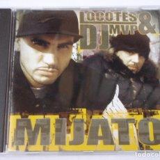 CDs de Música: LOCOTES & DJ MVP ( MIJATO ) CD. Lote 161456238