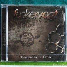 CDs de Música: FUNKER VOGT - COMPANION IN CRIME CD NUEVO Y PRECINTADO - EBM ELECTRO INDUSTRIAL. Lote 161466186