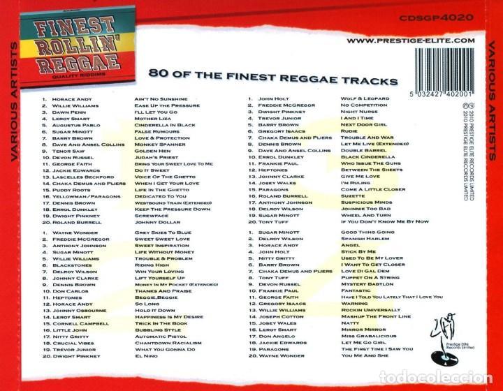 CDs de Música: Finest Rollin' Reggae (Quality Riddims) * BOX SET 4CD * 80 tracks * Precintado - Foto 2 - 161477146