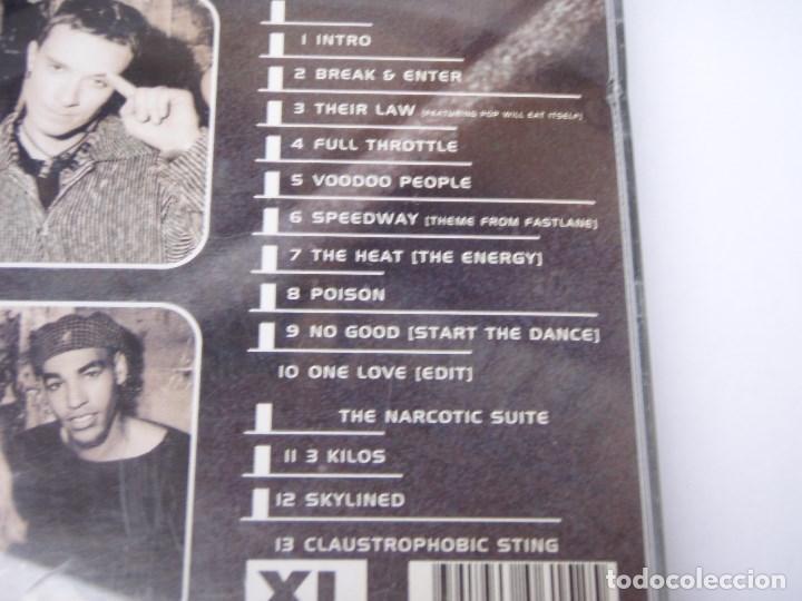 CDs de Música: THE PRODIGY ( MUSIC FOR THE JILTED GENERATION ) ELECTRONICA 1994-SCANDINAVIA CD - Foto 2 - 161479758