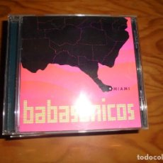 CDs de Música: BABASONICOS. MIAMI. SONY , 2000. EDT. ARGENTINA. CD. IMPECABLE (#). Lote 161484386